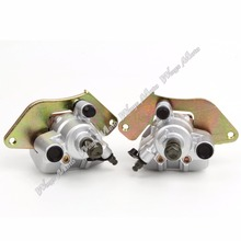 Best price Front Brake Caliper Set for Honda TRX420 Rancher 2007-2015 TRX500 Foreman 12-15