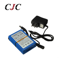 High Quality DC 12V 3000mAh Li Ion Super Rechargeable Battery Pack With Plug For CCTV Camera