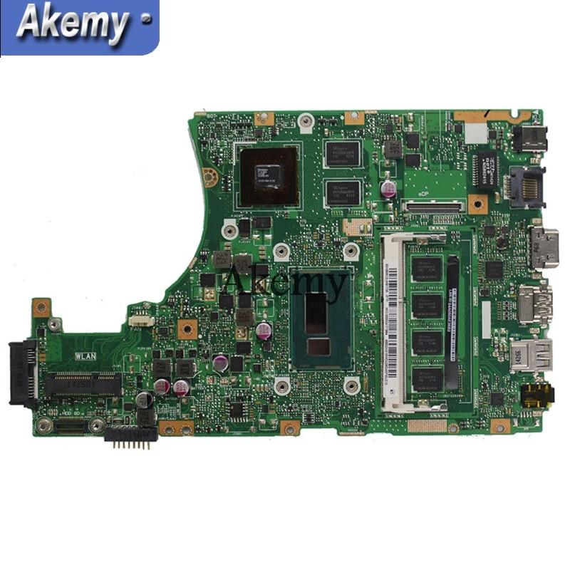 Akemy X455LD carte mère d'ordinateur portable GT820M i7 4510M pour ASUS X455LJ X455 Y483L W419L W409L carte mère de Test X455LD test ok-in Cartes mères from Ordinateur et bureautique on AliExpress - 11.11_Double 11_Singles' Day 2