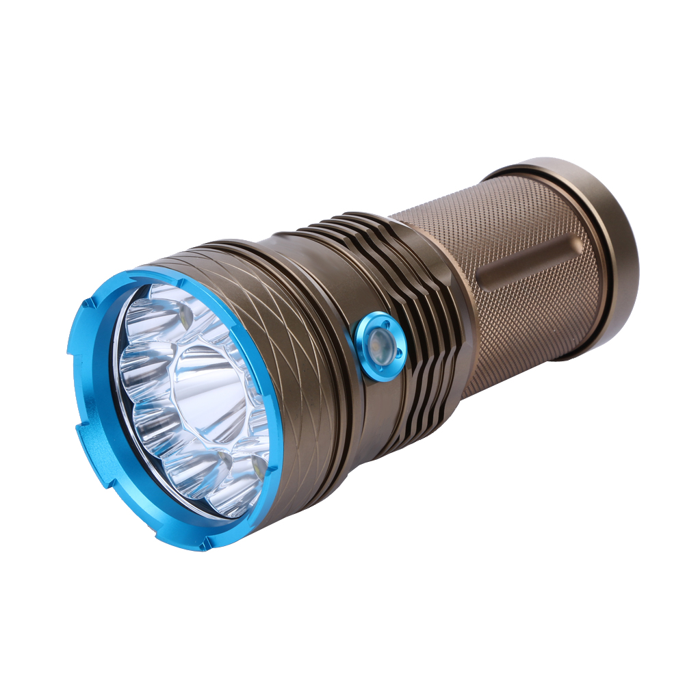 Waterproof 30000LM 12x XML T6 LED 3 Modes Bicycle Flashlight Torch Tactical Light Outdoor Bike Floodlight Lamp ISP 3 3 300 30000