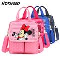 New Cartoon Backpack Cute Minnie Mouse Children School Bag Baby Toddler Bookbag Shoulder Bags for boys girls mochila feminina