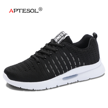 APTESOL Men Fashion Style Lightwight Casual Shoes New Teenager Mesh Breathable Sneakers Men's Hard-Wearing Flat Shoes Size 39-44