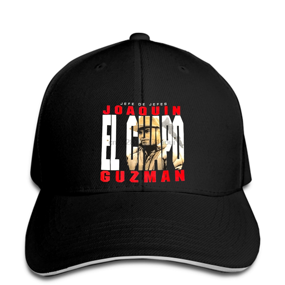 Baseball Cap El Chapo Baseball Caps Joaquin Guzman Jefe De Jefes Solid Fit Logo Men Fashion Baseball Caps Women Print Hat