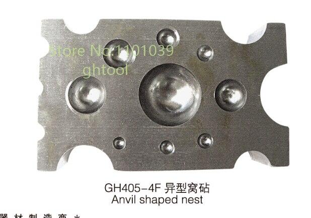 High Quality Jewelry Making Tools Goldsmith Tools Flat Dapping Block jewelery tools 0804109 0031[terminal block tools