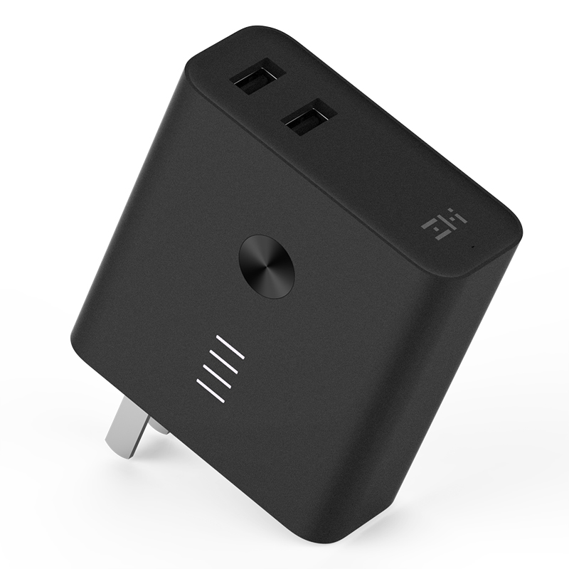 Xiaomi ZMI Power Bank+charger 6700mAh Quick Charge 3.0 Supports Two-Way Fast Charge Powerbank for Xiaomi iPhone Samsung original zmi power bank unit