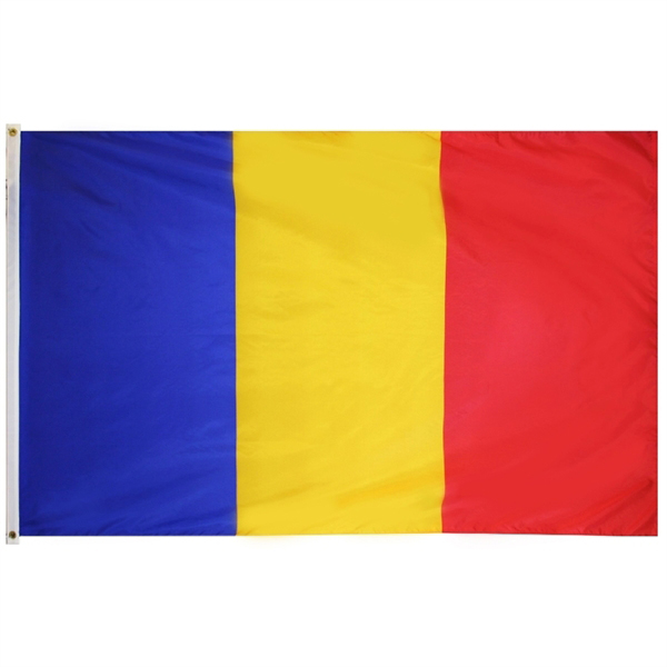 Johnin 90*150cm Blue Yellow Red Ro Rou Romania Flag For Decoration
