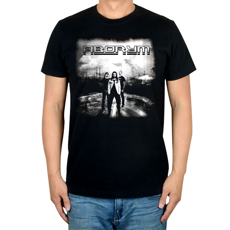 6 дизайнов, Летний стиль, ABORYM, панк-рок, брендовая черная футболка, 3D mma camiseta, фитнес, хлопок, футболка с тяжелым металлическим принтом, футболки - Цвет: 6