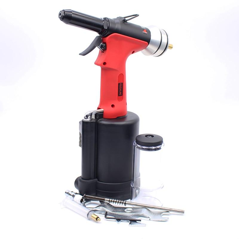 Haute Qualité A280 Pneumatique Riveteuse Pistolet Air Hydraulique Rivets Outil 4.0-6.4mm