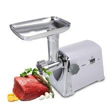 W máquina de Picar Carne Eléctrica 1600 W Fabricante de Salchichas Picadora de Carne Picada Máquina de Molienda de Alimentos