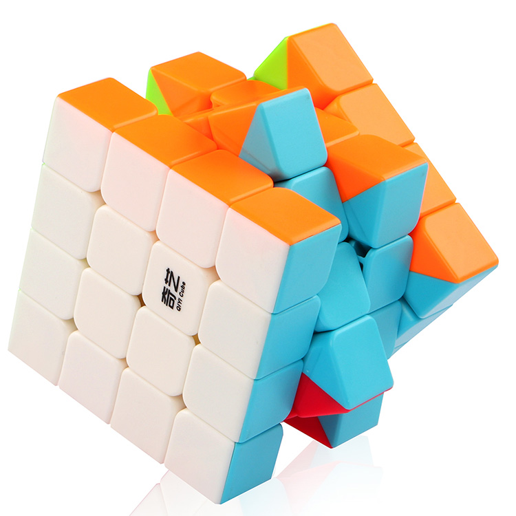 Stickerless Cube Mofangge QiYi QiYuan S 4X4x4 Magic Cube Twist Puzzle Speed Cube 4x4 Educational Toy Cube for Children Beginner