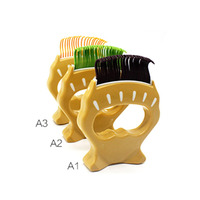 Comfortable Pet Hair Trimmer Comb Elegant Hair Removing Shell Comb Portable Dog Cat Grooming Dressed Hair