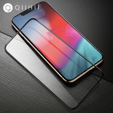 QIIHII Screen Protector For iphone X XR XS MAX Tempered Glass 8 7 6 6S Plus 7Plus Protection