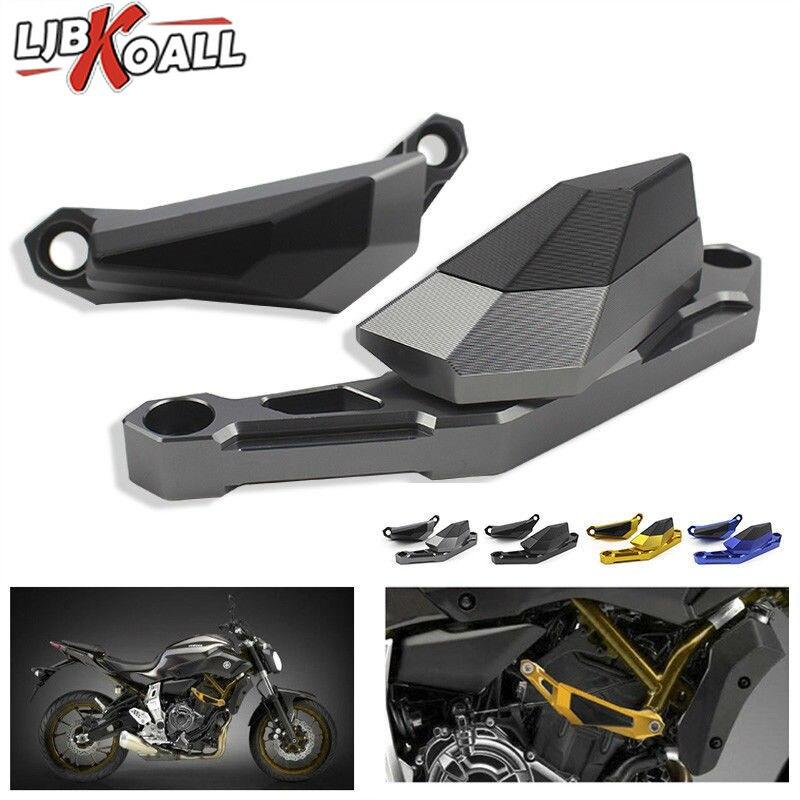 For YAMAHA MT 07 FZ 07 FZ07 MT07 MT 07 Motorcycle Crash Protector CNC Engine Cover