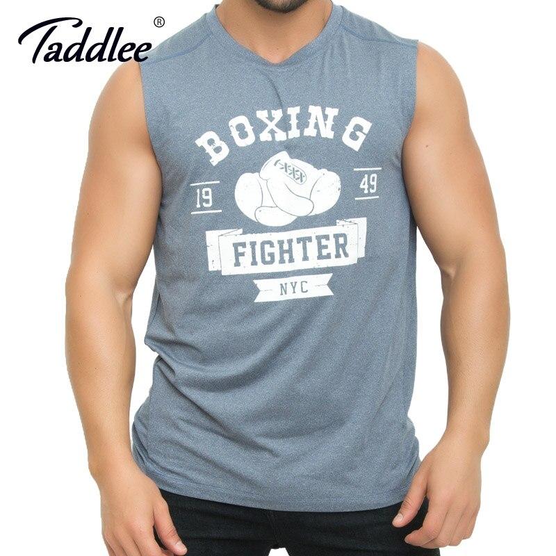 Sports & Entertainment Taddlee Brand Mens Tank Top Tees Shirts Sleevelesss Gym Sports Running Basketball Gasp Bodybuilding Stringer Singlets Shirts Men