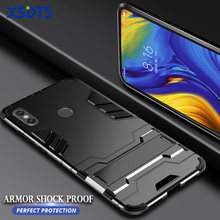 XSDTS Armor Shock Proof Case For Xiaomi Mi MIX 3 Max 2 2s PC+TPU Iron Man 3D Shield Phone Case Cover Coque(China)