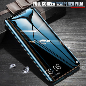 Image 5 - 9D Protective Glass on the For Huawei Mate 20 10 Pro 20X 9 Lite Screen Protector For Huawei P Smart Tempered Glass Film Case