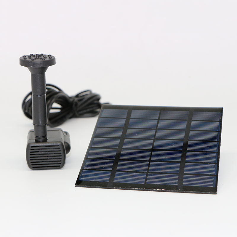 1.5W Solar Panel Combination Spray Pump Pond Aquarium Program Control Fountain Landscape Garden Sprinkler Sprinkler VE