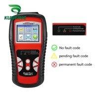Kw830 obd2/eobd carro obd ferramenta de diagnóstico scanner automático automotivo obdii leitor código falha melhor do que ad510 e ms509