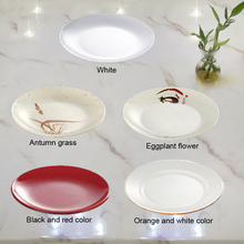 New Fashion Plate Melamine Tableware Moonlight Chinese Restaurant With A5
