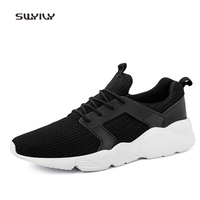 SWYIVY Unisex Running Shoes Leica Jacquard Uppers Breathable Sneakers 2018 New Non Slip Light Weight Men