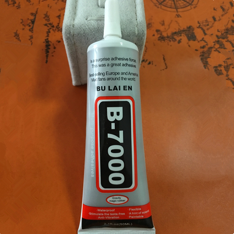 B7000Super Glue Sealat 50ml Multipurpose B-7000 Adhesive Epoxy Resin DIY Jewelry Crafts Glass Touch Screen Phone Repair Nail Gel