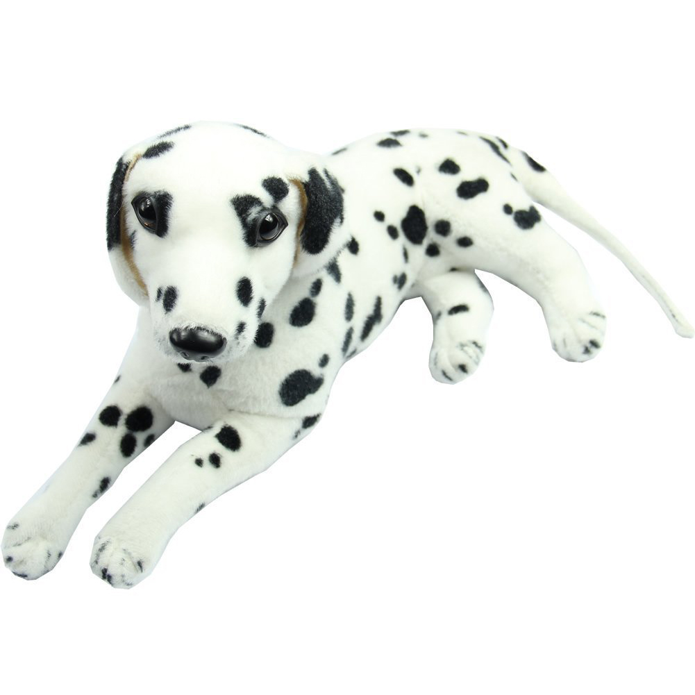 New Lovely Stuffed Toys Dalmatians Simulation Dog Plush Animal Gift [Toy]