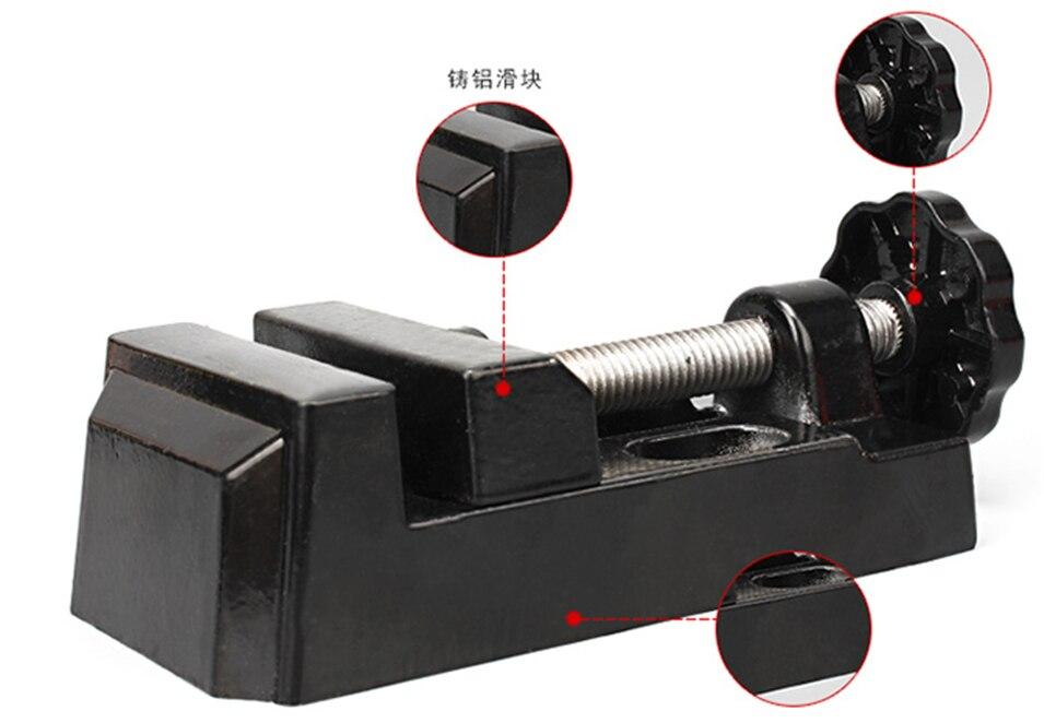 1pc Black Jaw Bench Clamp Mini Drill Press Vice Micro Clip Flat Vise DIY Hand Tools 105 x 55 x 35mm цена 2016