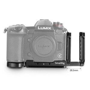 Image 5 - SmallRig G9 L סוגר עבור Panasonic Lumix G9 מצלמה L צלחת שחרור מהיר חצובה Monopods לצרף 2191