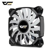 DarkFlash ZR12 двухлопастной вентилятор для ПК 120 мм бесшумный вентилятор охлаждения кулер ШИМ 4pin+ 3pin для корпуса компьютера Вентилятор охлаждения процессора радиатор