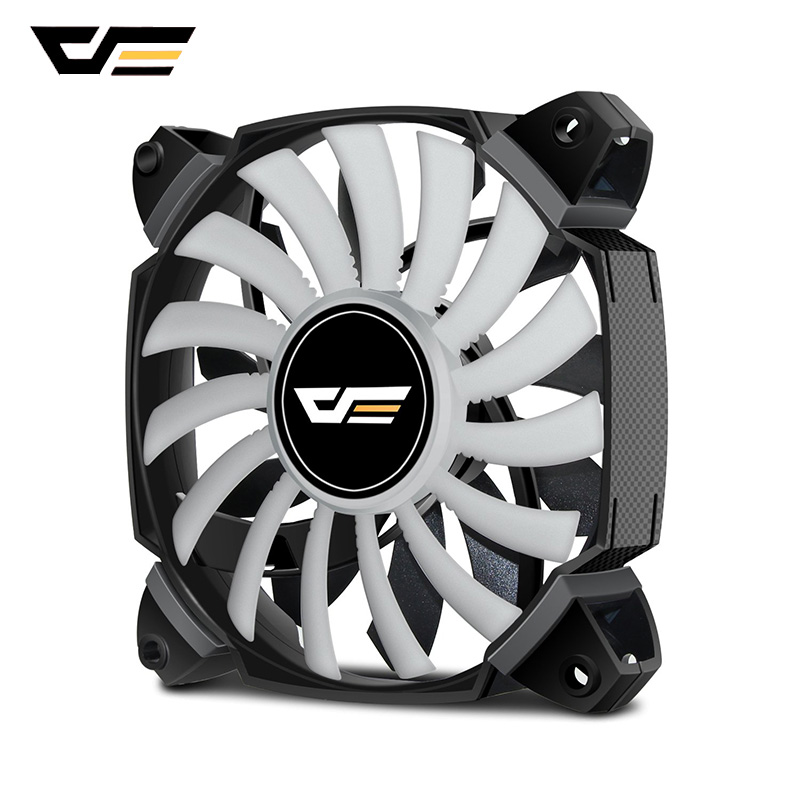 darkFlash ZR12 Dual Blade <font><b>PC</b></font> <font><b>Fan</b></font> <font><b>120mm</b></font> Silent Case Cooling <font><b>Fan</b></font> Cooler PWM 4pin+3pin for Computer Case CPU Cooling <font><b>Fans</b></font> Radiator image