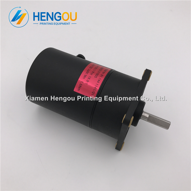 1 Piece free shipping Heidelberg motor 61.144.1141 for heidelberg SM102 CD102 machine 1 piece heidelberg sm102 cd102 cylinder gripper printer parts gripper pad
