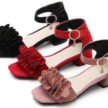 Детская обувь для девочек; розовые сандалии на плоской подошве с бусинами и жемчугом; гладиаторские римские сандалии для девочек