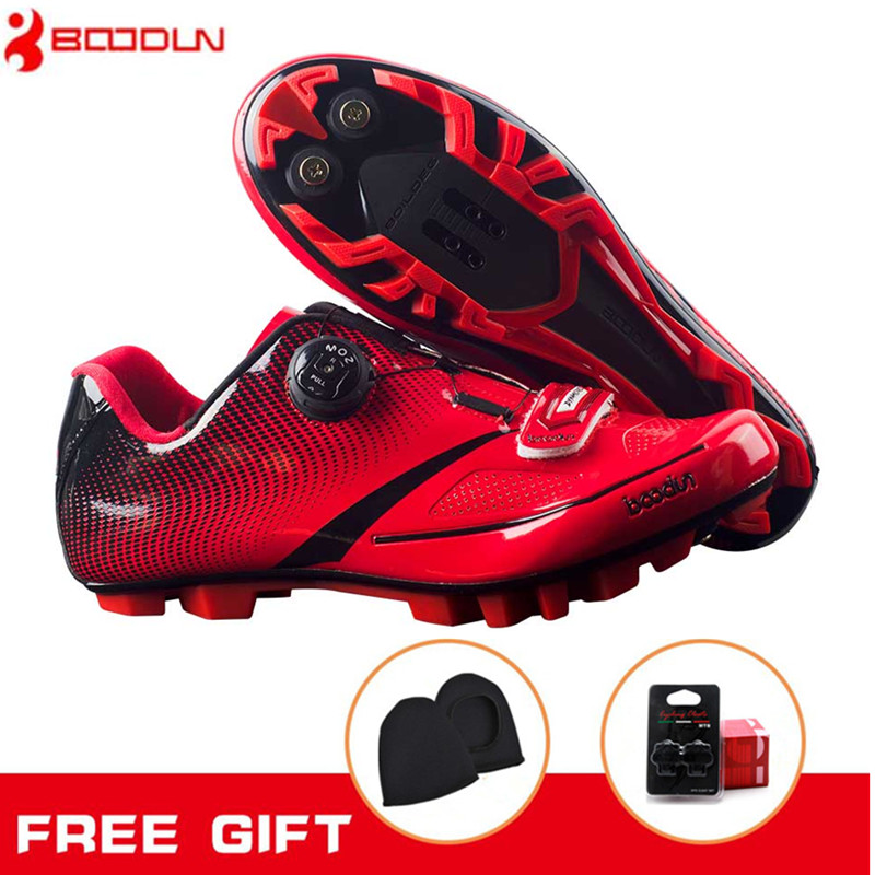 BOODUN Cycling Shoes For Women sneakers Men Racing Bicycle Bike Shoes Self-Locking zapatillas ciclismo add Cover and bike pedal home exerciser cycling fitness mini pedal exercise bike 4 legs lcd display indoor cycling bike stepper for the aged and young