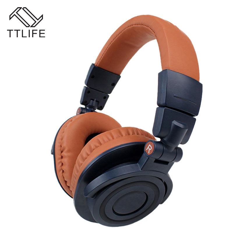 TTLIFE Hot Sale Foldable Bluetooth headphone 4.1 wireless Stereo Super Bass Gaming Headset With Microphone for Samsung xiaomi hot sale ttlife smart bluetooth 4 1 earphone upgraded wireless sports headphone portable handfree headset with mic for phones
