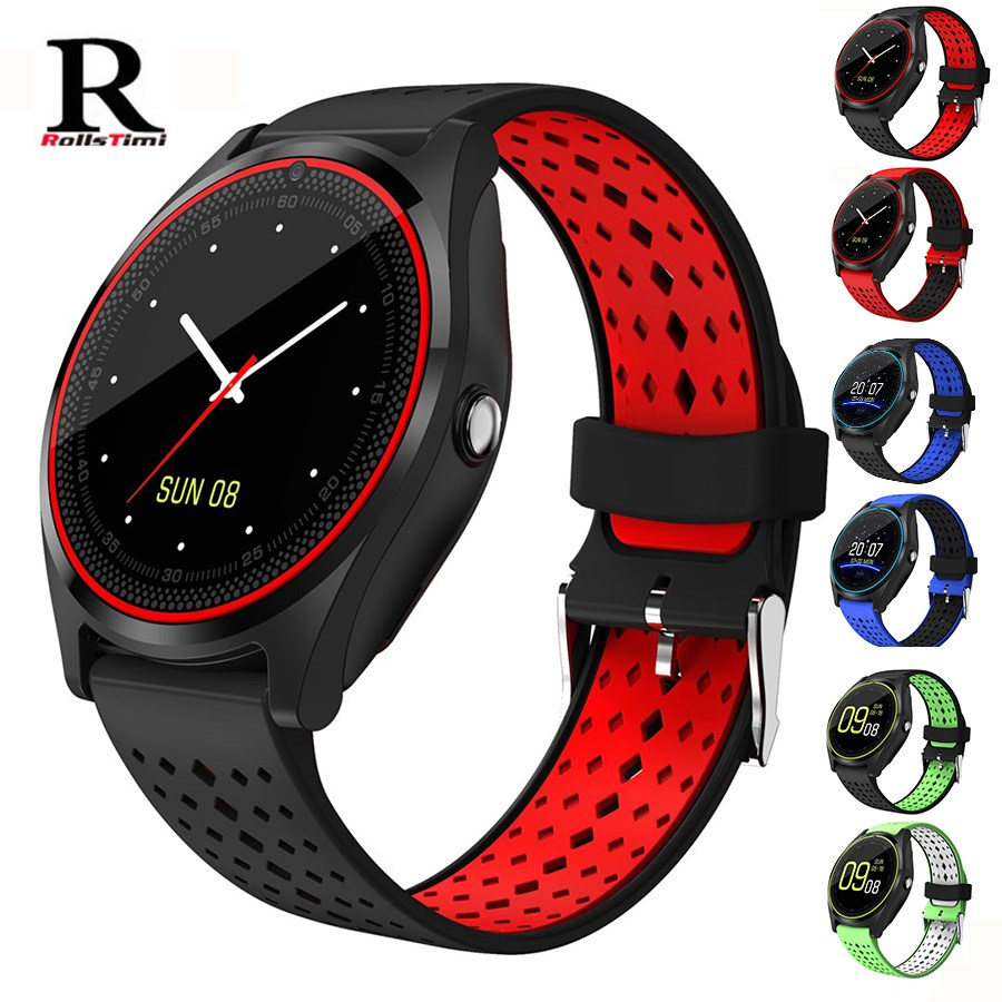 RollsTimi Smart Watch Phone Android Support SIM-kort Armband - Herrklockor