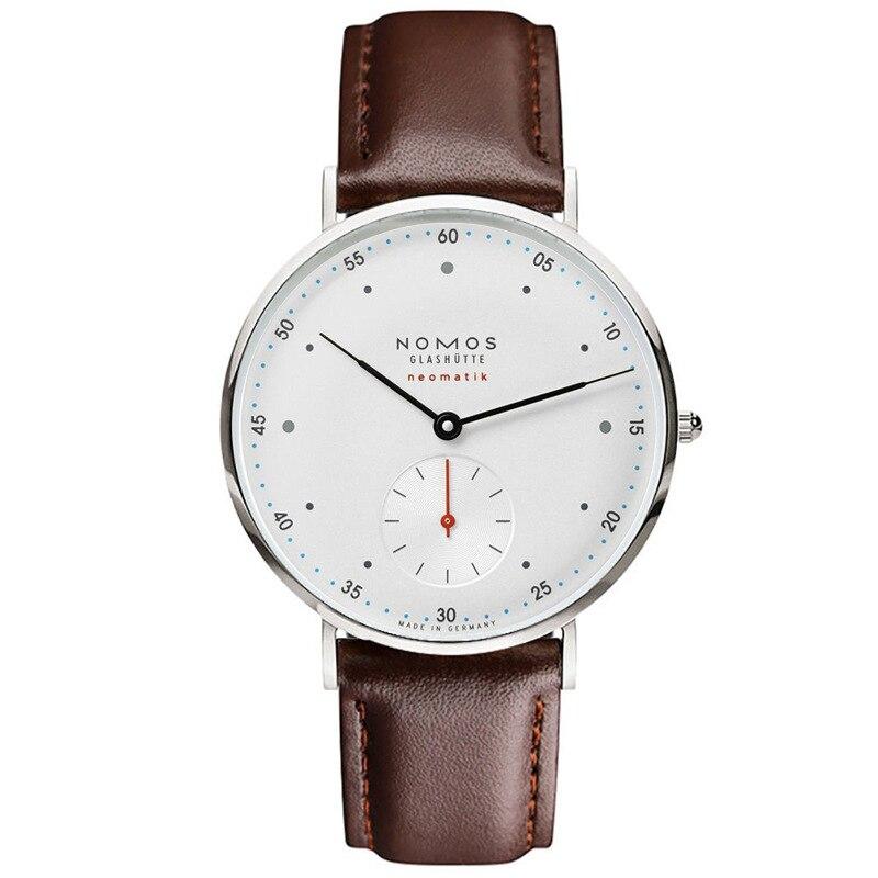 NOMOS watches luxury quartz famous watch leather men watch clock men relogio masculino women watch men