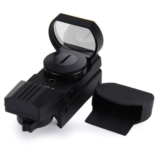 11 /20 mm Rail Riflescope Hunting Airsoft Optics Scope Holographic Red Dot Sight Reflex 4 Reticle Tactical Gun Accessories Hot