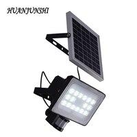 30W Solar Panel LED Floodlights IP65 Security Garden Light PIR Motion Sensor Solar Lamps For Garden