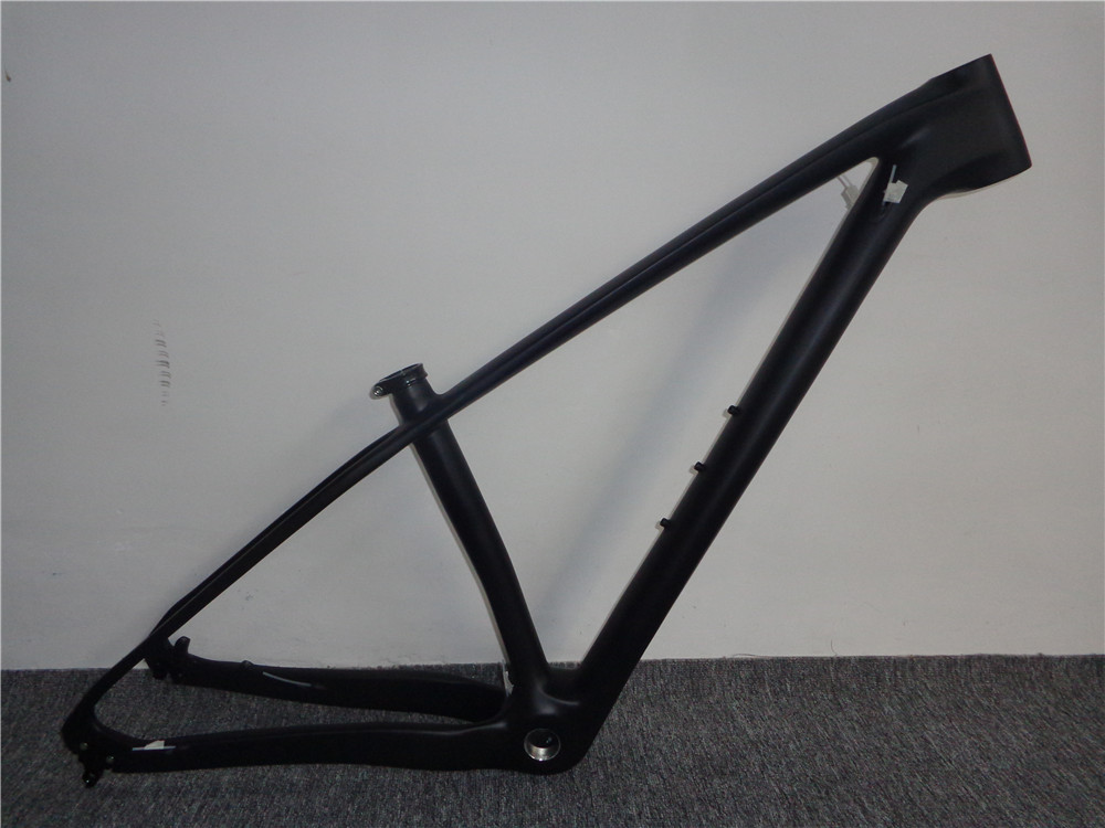 <font><b>OEM</b></font> painting mtb frames carbon 29 mountain <font><b>bike</b></font> frames size 15/17/19 available carbon mtb frames bsa with headset and clamp image