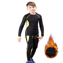 Thermal Underwear Set Children Winter Warm Long Johns Mascul