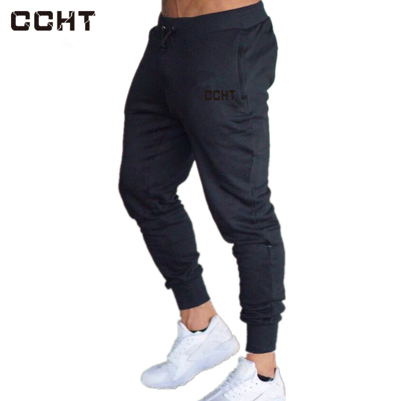 2018 Mens Pants for Winter Bodyboulding Hip Hop Clothing Street Trousers Fitness Jogger Sweatpants Casual Sweat Pants