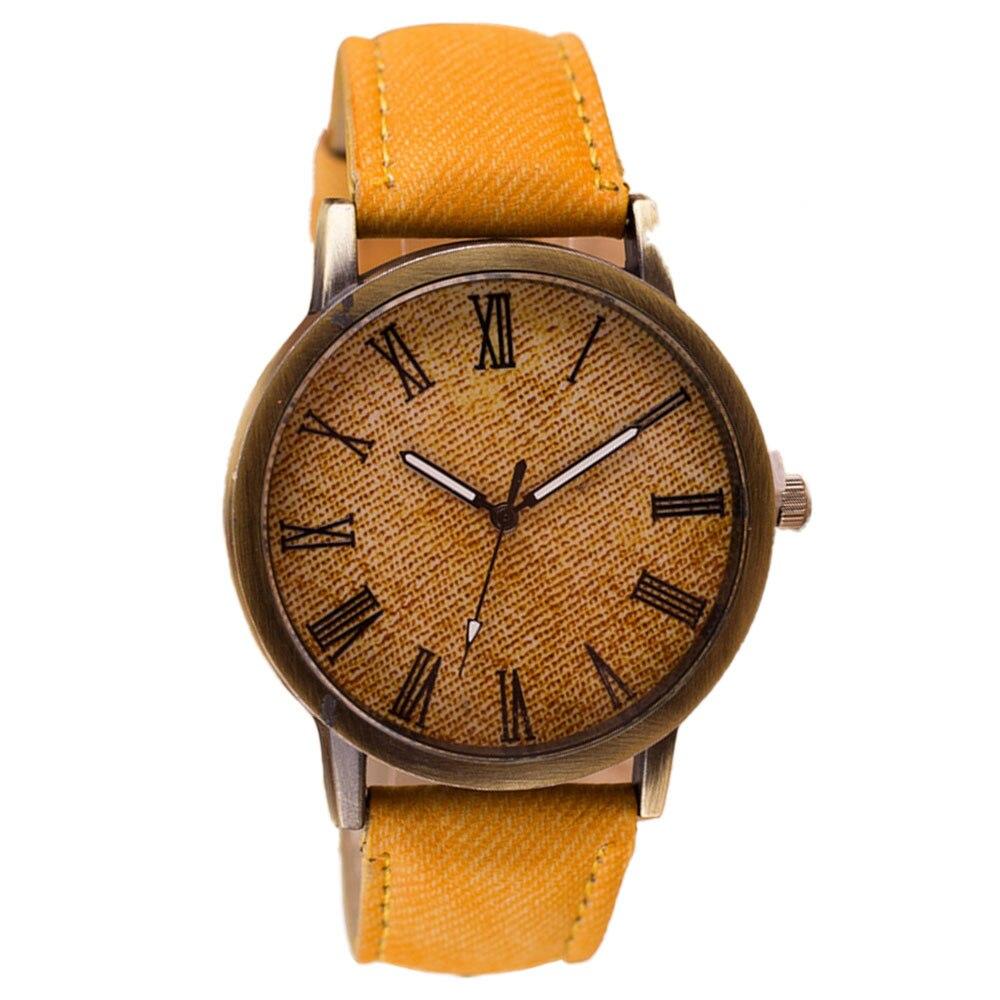 2019 Top Luxury Solid Color Men Women Watches Fashion Jeans Leather MEIBOчасы женские Wristwatch Ladies Watch Zegarek Damski