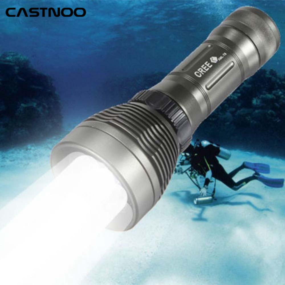 Top Quality Underwater Cree Xm L T6 2600lm 8 Mode Led