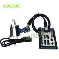 Livraison gratuite PCI express à pcmcia adaptateur express card PCI-e/USB 2.0 expresscard 34/54 lecteur de carte