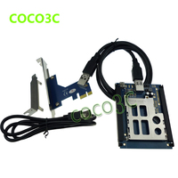 Free Shipping PCI Express To Pcmcia Adapter Express Card PCIe USB To Expresscard34 54