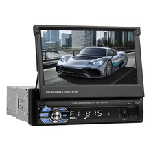 VODOOL складной 7 «сенсорный экран стерео MP5 плеер 1080P HD gps навигация Bluetooth Видео Аудио RDS AM FM радио Media Player