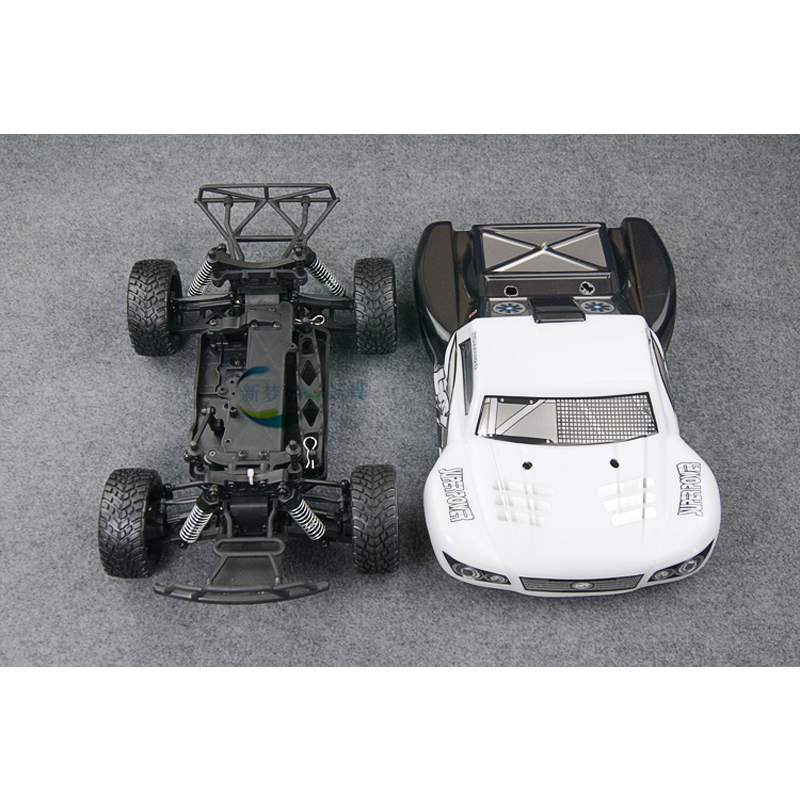 XMX New Dream Hot-Sale RC racing car Empty Frame High Quality 1:16 Speed Model Modification accessories Assembly Equipment (DIY)