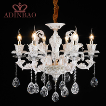 Modern crystal chandelier 6 Arms Luxury crystal light chandelier Fashion chandelier crystal light Modern Large light XW8316-6