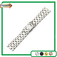 Stainless Steel Watch Band for AP Audemars Piguet Royal Oak Watchband 28mm Metal Strap Belt Wrist Loop Bracelet Black Silver