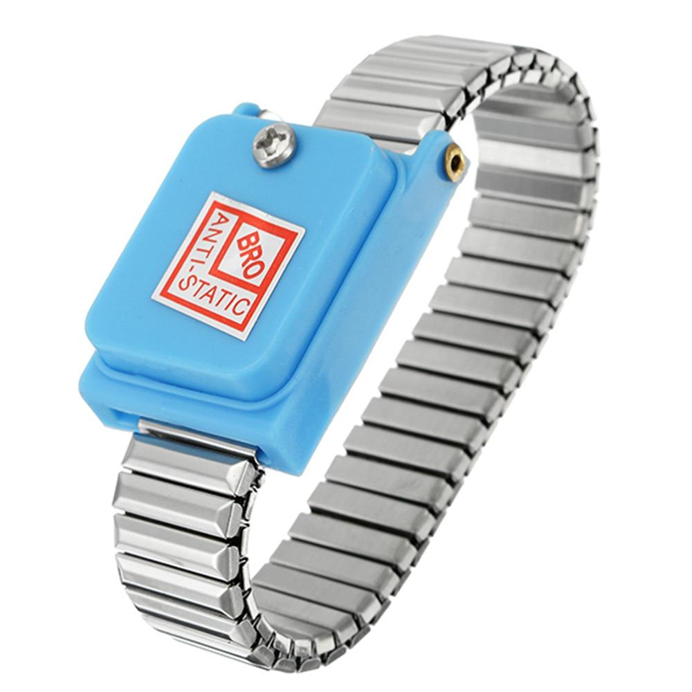 Cordless Bracelet Metal Antistatic Wireless Anti Static ESD Wristband Discharge Electronic Work Wrist Band Anti-Static Wristband